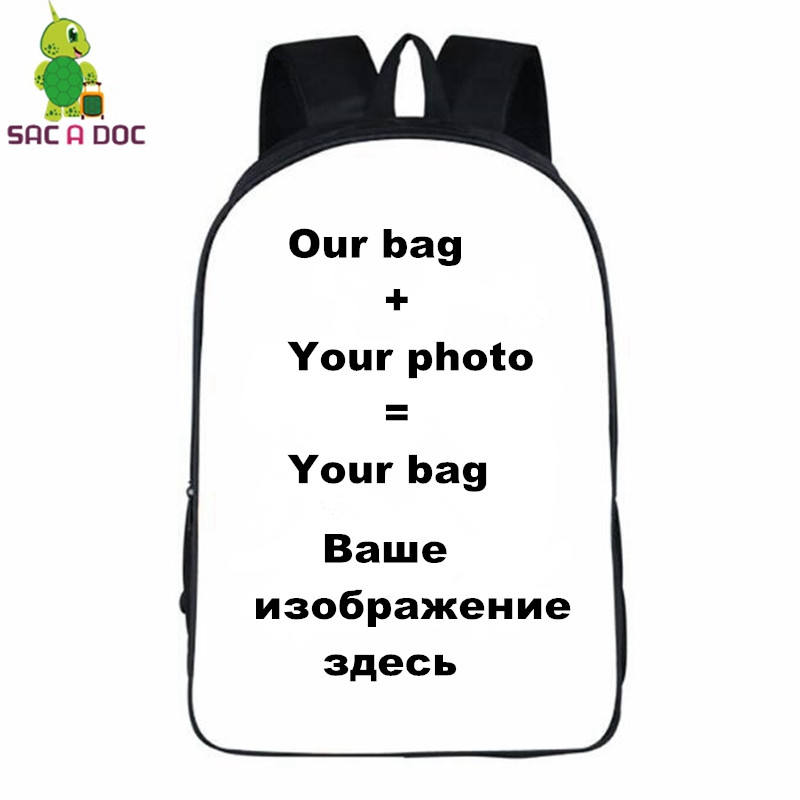 Customize Backpack Anime Backpacks Cartoon Shoulder School Bags Travel Bag Boys Girls Book Bag New Fashion Teenagers Bagpack