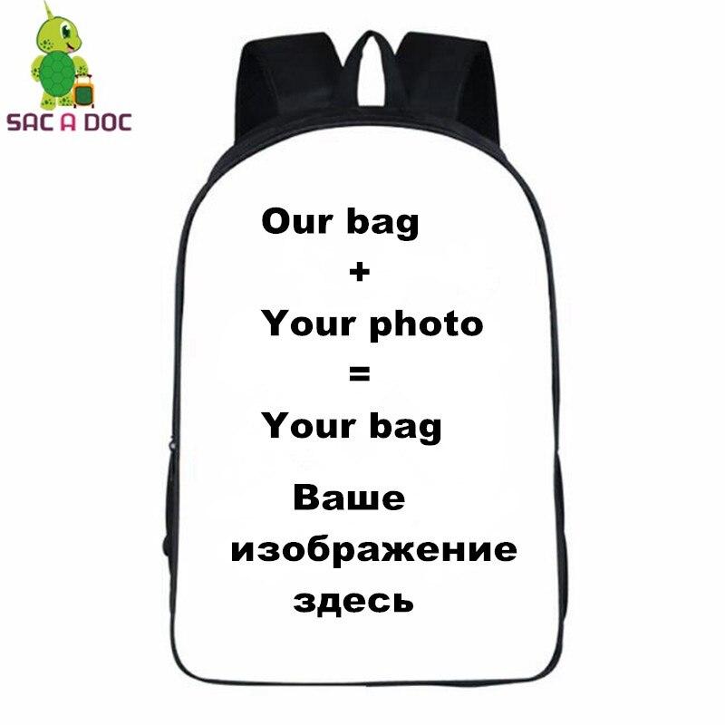 Customize Backpack Anime Backpacks Cartoon Shoulder School Bags Travel Bag Boys Girls Book Bag New Fashion Teenagers Bagpack