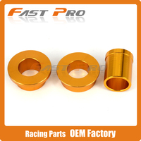 Gold CNC Front & Rear Wheel Hub Spacers Axle Kit For SUZUKI DRZ400S DRZ400E 2000 2015 01 02 03 04 05 06 07 08 09 10 11 12 13 14