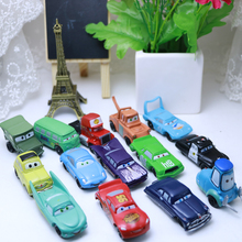 14pcs/Set Disney Pixar Cars 2-7cm Figures Mini PVC Action Figure Model Toys Dolls Classic  Lightning McQueen Toys for Children
