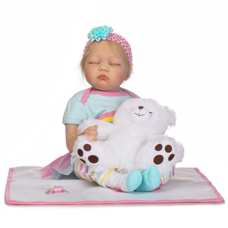 NPK DOLL 22inches 55cm Reborn Baby Doll Bebe Reborn Full Body Silicone American Boy Dolls Children Toys Gift mother to be gift silicone reborn toddlers 22inches solid realistic full body cosplay reborn dolls wholesale