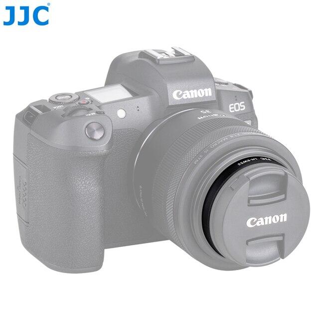 JJC LH EW52 Paraluce per obiettivi fotografici Per Canon RF 35 millimetri f/1.8 Macro IS STM Lens Sostituisce Canon EW 52 Fotocamere Accessori