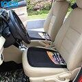 Car styling Fit invierno amortiguador de asiento de coche Universal interior del coche accesorios del coche del amortiguador de asiento almohadilla cubierta delantera auto Asiento Protector