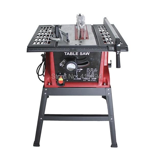 Sierra de panel de mesa de nuevo diseño, sierra de trabajo de madera / sierra de panel de 1560 W / 5000 rpm