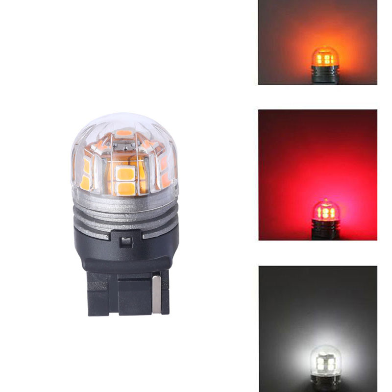 T20 7440 Avtomatik LED tərs işıqlar Əyləc işıqları LED siqnal - Avtomobil işıqları - Fotoqrafiya 2