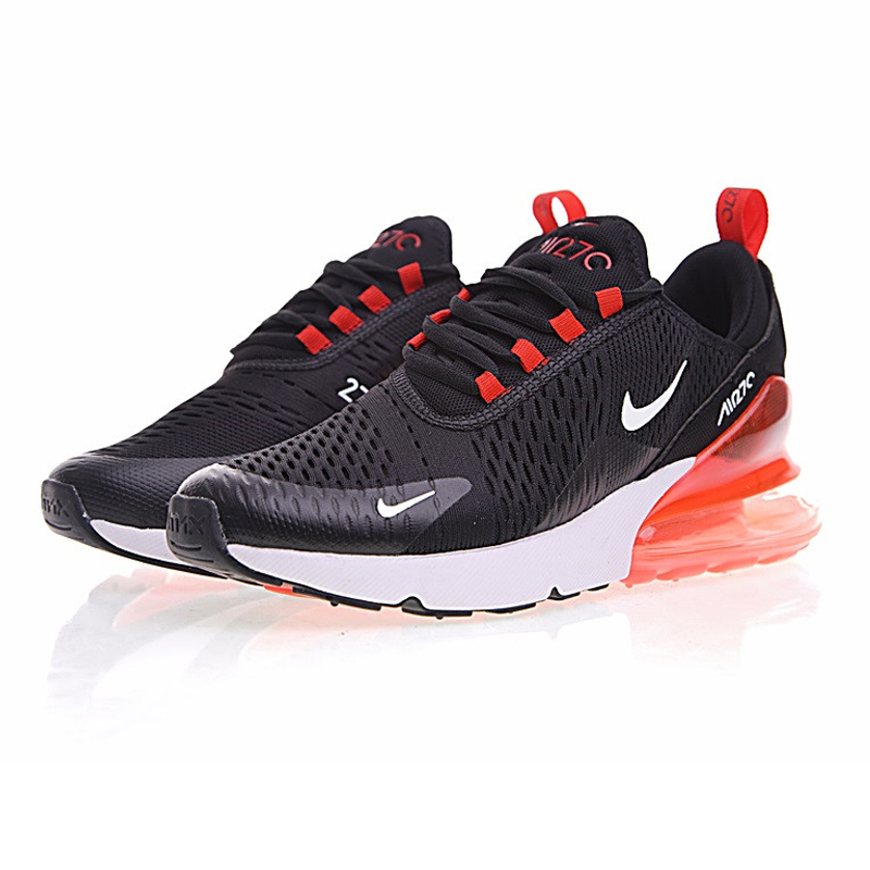 nike air max 270 wit met oranje