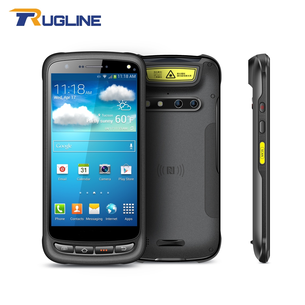 4G LTE Handheld PDA Android 6 0 OS 2G RAM 16G ROM Memory NFC 1D 2D