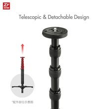 zhi yun Zhiyun Official Telescopic Monopod for Zhiyun Crane 2 for Zhiyun Handheld Gimbal Stabilizer with 1/4″ Mounting Screw