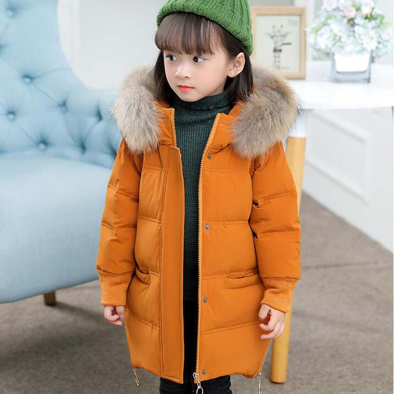 fur collar Children's down jackets white Duck Down Jackets casual boys girls hooded down coats quality baby down outwear 2-7Year недорго, оригинальная цена