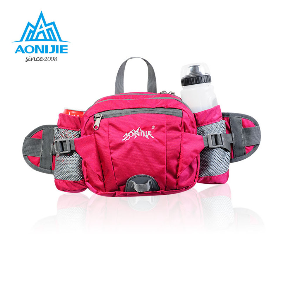 Aonijie Hunting Sport Waist Bag Multifunctional Running Belt Travel Blue Green Cycling Fanny Pack For Money Key In Bags From Sports Entertainment On