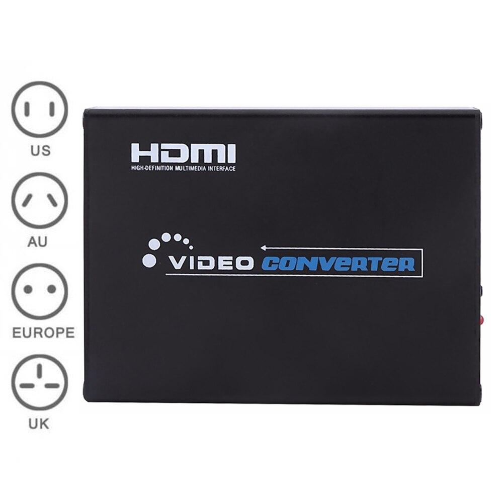 For Scart HDMI 1080P Converter Scaler S Video R/L Audio Box Video/YC/RGB HDTV