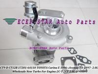 CT9 CT12B 17201-64110 17201 64110 1720164110 Turbo Turbocompresseur Pour TOYOTA Carina E 1996-Avensis TD 1997-2C-T 2CT 2.0L D 90HP
