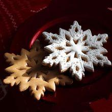 Нержавеющая сталь 3D Рождественский торт-Снежинка печенье формочка для печенья DIY инструмент для выпечки кондитерских изделий