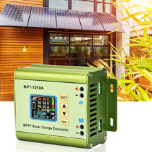MPT-7210A Solar Panel Charge Controller with LCD Display Aluminum Alloy MPPT