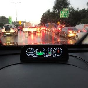 Image 4 - AUTOOL X90 di Velocità GPS Pendenza Meter Inclinometro Auto HUD Automotive Tilt Angolo di Inclinazione Goniometro Latitudine Longitudine Smart Bussola