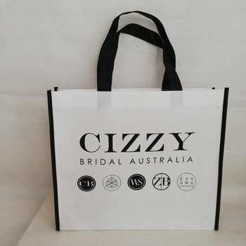 500pcs/lot Reusable Non Woven Shopping Tote Bag Promotional Bag with Custom Logo Free Shipping Giveaway Gift Handbags Wholesales - Category 🛒 Luggage & Bags