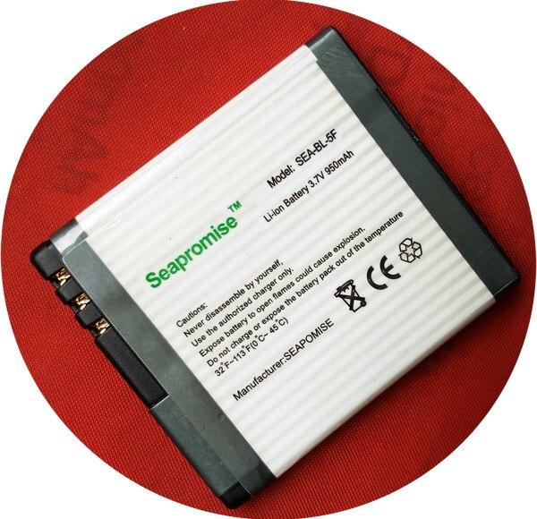 Бесплатная доставка 25 шт./заказ батареи мобильного телефона BL-5F BL 5F BL5F для <font><b>nokia</b></font> 6210n, 6290, 6710n, <font><b>E65</b></font>, n93, N93i, N95, N96, X5..