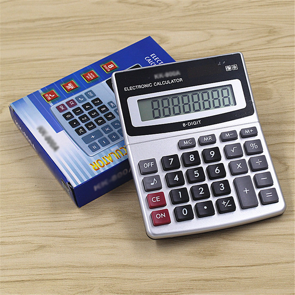Newest Arrival Office using Muti function calculator Large keys computer 8 Digits calculator