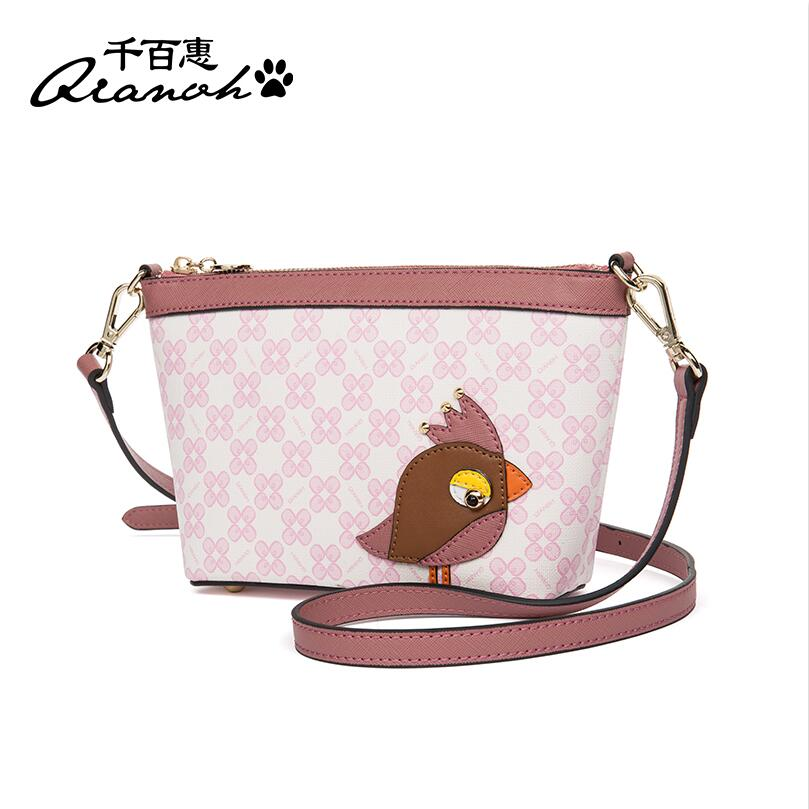 2017 New women pu leather bag fashion quality women leather Shoulder Messenger Bag Wild  mini small women bags 2017 fashion all match retro split leather women bag top grade small shoulder bags multilayer mini chain women messenger bags