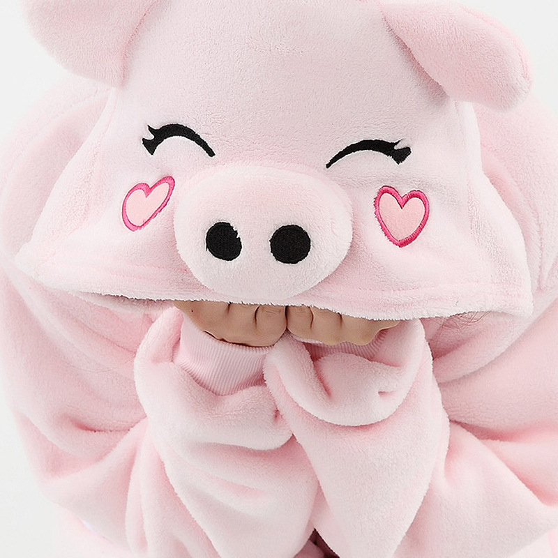 pink pig onesie for adults