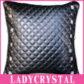 Ladycrystal Car Leather Hold Pillow Super Soft Cotton Auto Seat Cover Cushion Diamond Crystal Pillow For Girls Women Ladies