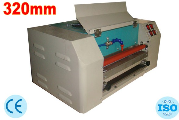 2018 New Photo UV coating machine Laminating Machine 320mm. High quality for paper, photo, poster laser automatic cd disk uv coating machine laminating coater extrusion laminator with high quality on hot sales