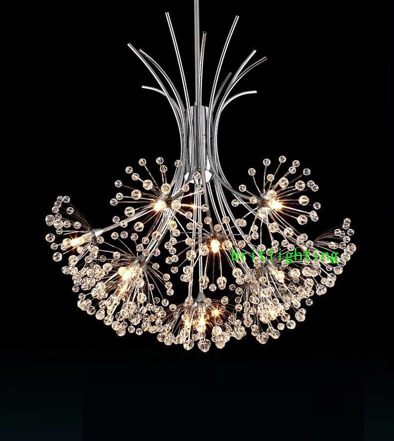 Dandelion Chandelier Caboche Crystal Manufacturer Bubble Chandeliers Flower Lighting Wedding In From Lights