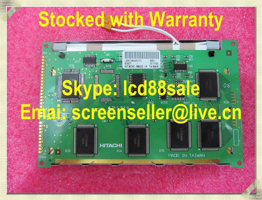 Meilleur prix et qualité nouveau et original LMG7400PLFC avec T6963 contrôleur IC écran LCD industrielle