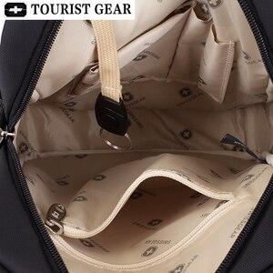 Image 3 - Vintage Oxford black swiss bags mens shoulder bag man Waterproof messenger crossbody bags for men 2019 bandolera hombre