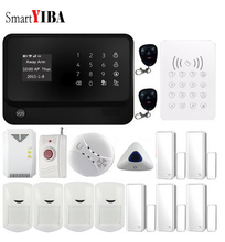 SmartYIBA Wireless Wifi Alarm Security System IOS Android APP Control PIR Motion Door Open Close Detector