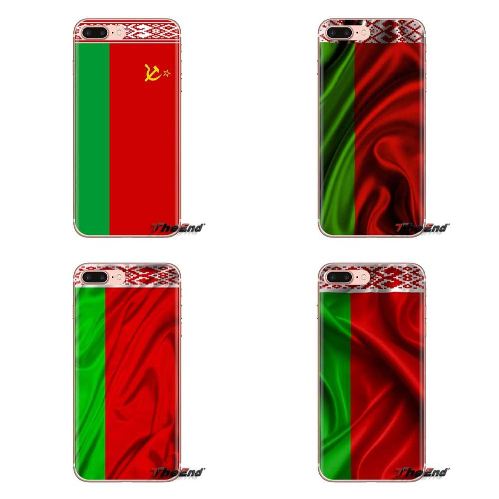 Soft Transparent Shell Covers For Huawei Mate Honor 4C 5C 5X 6X 7 7A 7C 8 9 10 8C 8X 20 Lite Pro Republic of Belarus flag banner