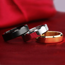 3 Colors Fashion tungsten rings 8MM wide Silver & gold color wedding rings for women and men jewelry