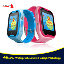 4G IP67 Waterproof Good Distant Digital camera GPS WI-FI Children Youngsters College students Wristwatch SOS Video Name Monitor Tracker Location Watch