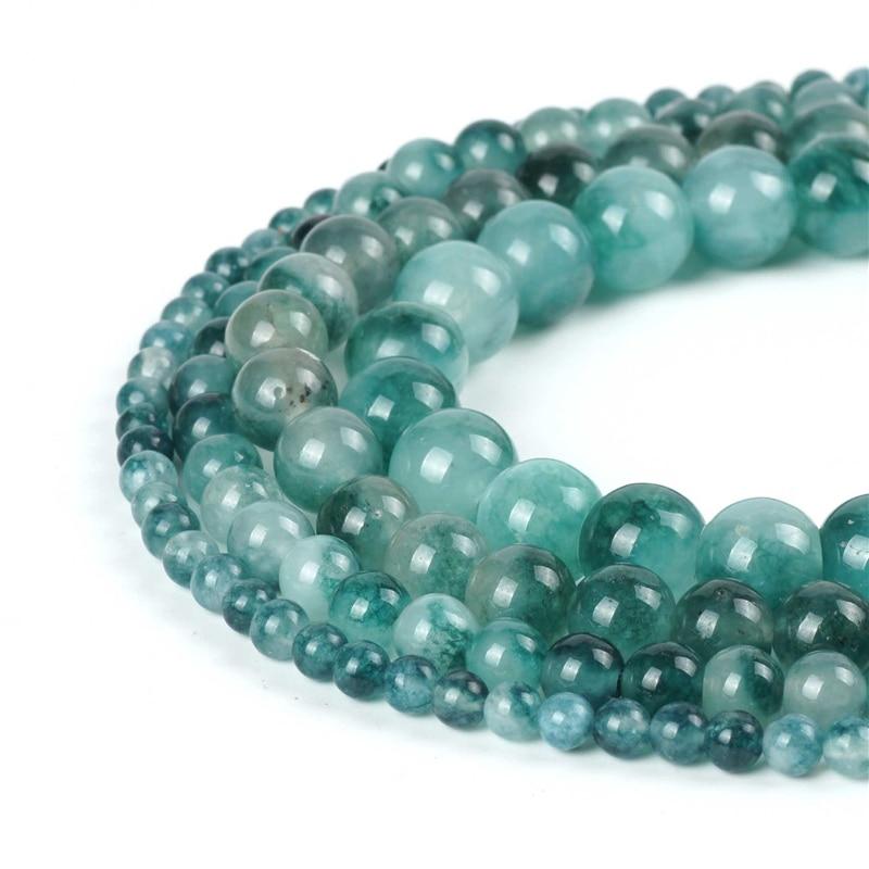 "15/"" Natural Sea Sediment Jasper Gemstone Round Spacer Loose Beads DIY 4//6//8//10MM"