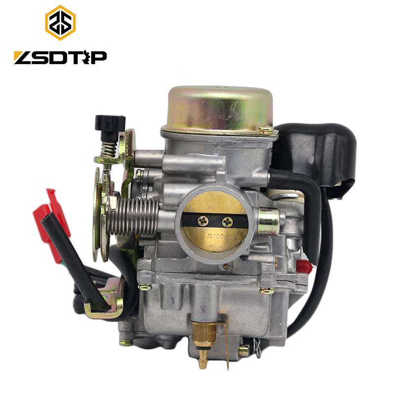 ZSDTRP RACING CVK 35mm CVK30 Carb Carburetor Moped Motor Motorcycle ATV Scooter GY6 150CC 200CC 250CC Keihin With Heater nibbi 27 28 30mm pe27 28 30 round side carburetor fit to racing motor gy6 refires large caliber jog rsz cvk free shipping