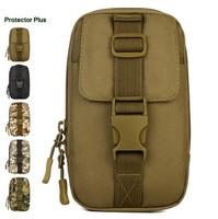 Protector Plus Waterproof Nylon Military Molle Waist Bag Hip Bum Fanny Pack For Men Loop Belt