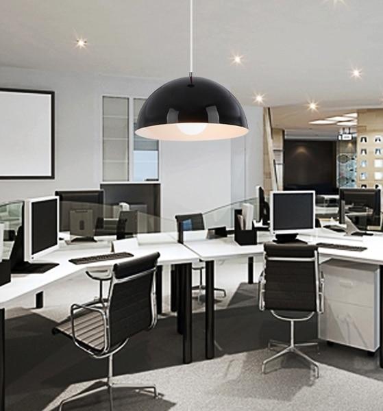 Modern Semi Circle Pendant Lamp Hanging Lights Fixture