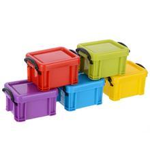 Mini Universal Plastic Storage Case For 1:10 Scale RC Rock Crawler Car Model Box  Blue Green Purple Red Yellow