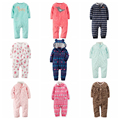 Baby romper Long sleeve jumpsuit polar fleece baby pajamas toddler baby girls clothes infants costume girls designer clothes