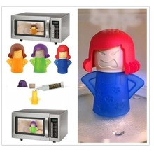 brand new Angry Mama Microwave Cleaner Easily Cleans Oven Steam Appliances for The Kitchen Refrigerator cleani