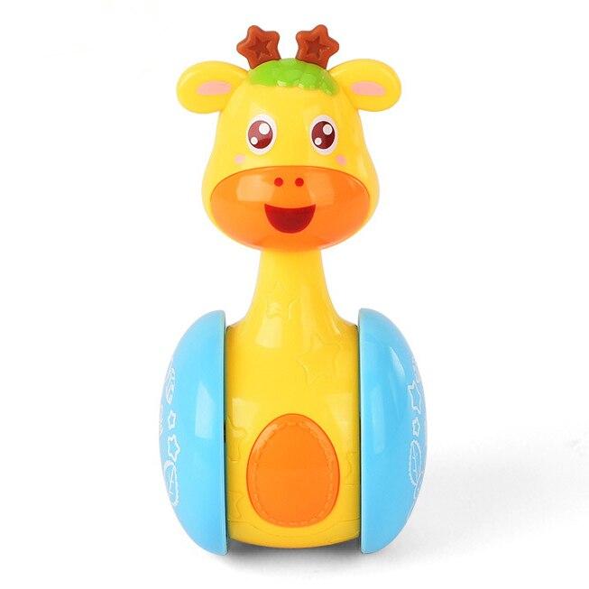 font b Toys b font Baby 3 Months Cartoon Animal Swing Tumbler Brinquedos Para Bebe