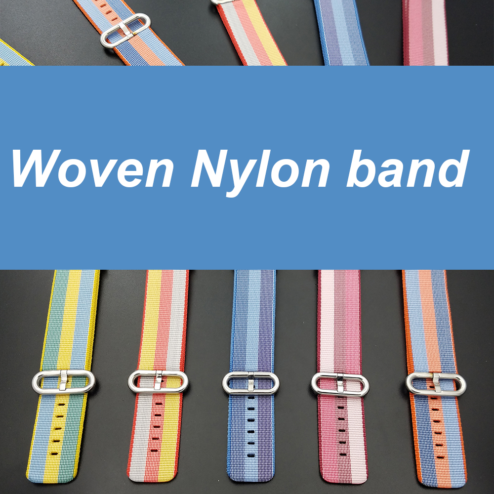 new color Woven Nylon band for Apple watch series 2 / 3 Fashion replacement bracelet strap watchband for iWatch 42mm 38mm bands