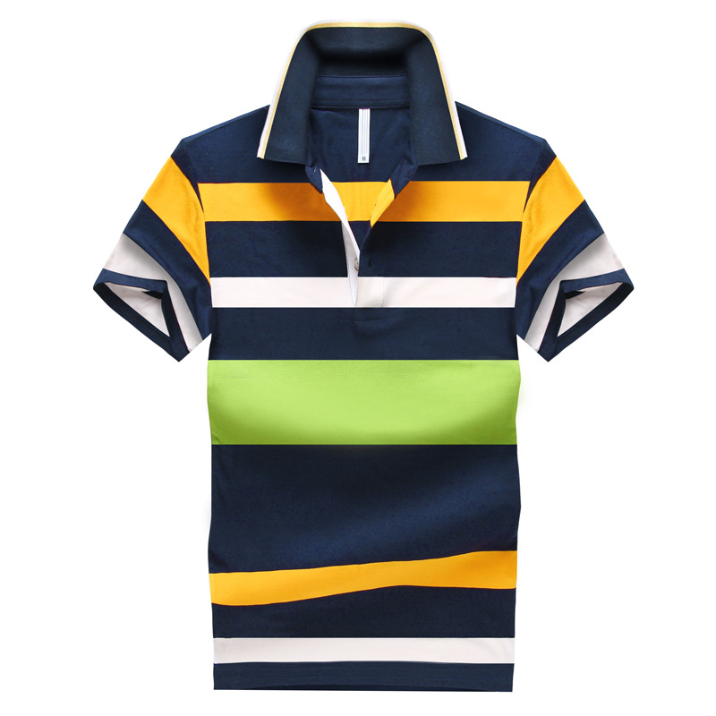 Image 3 - Hot Sale 2019 Summer New Arrival Men Polo Shirt Fashion Good Quality Classic Striped Homme Camisa Short Sleeves-in Polo from Men's Clothing