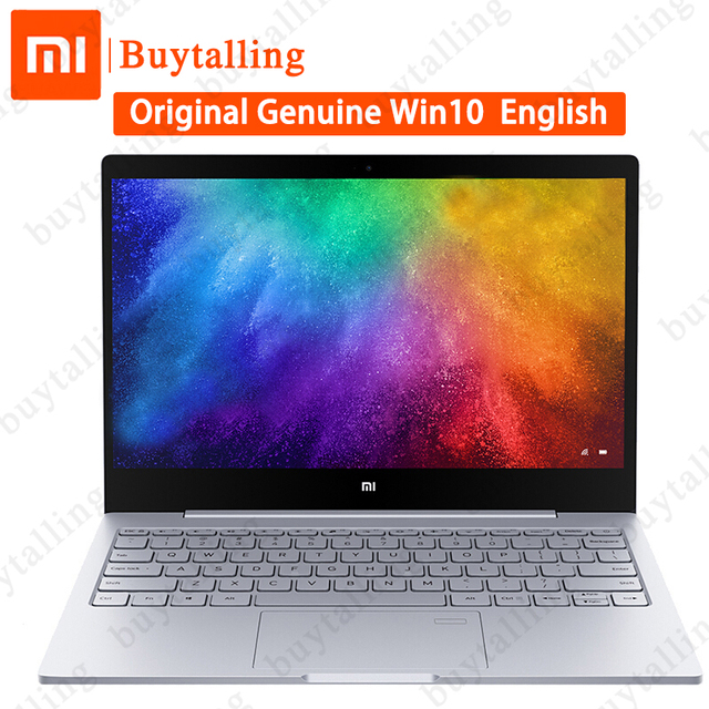 """XiaoMi Notebook Air 13.3"""" 2019 Ultrabook Laptops Intel Core i7 8550U 2GB GeForce MX250 8GB DDR4 256GB PCIe SSD PC Fingerprint"""