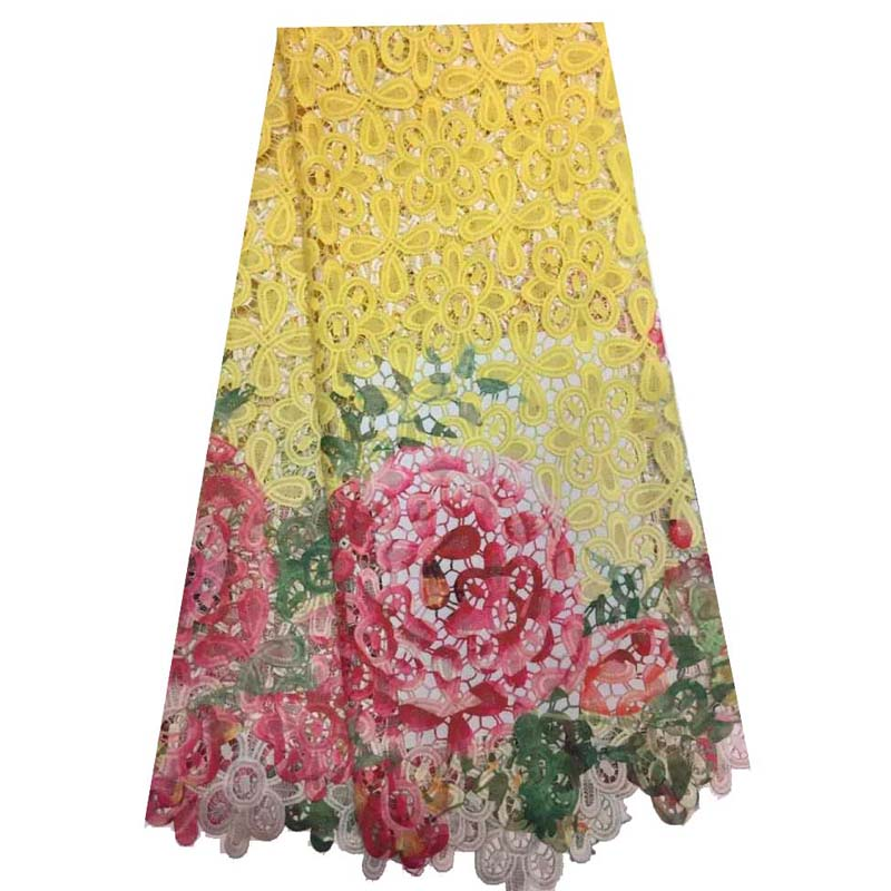 African Lace Fabric Design High Quality Cord Lace Fabric