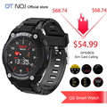 ¡DTNO! I n. ° 1 G9 1,3 pulgadas Full Touch GPS Sim Bluetooth llamada reloj inteligente música Monitor de presión arterial Deporte Fitness reloj teléfono