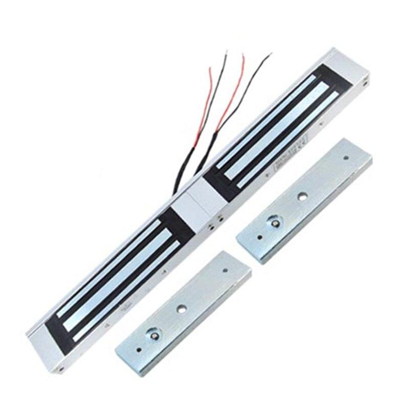 все цены на 180KG Magnetic Lock force visible for double wooden door glass dual door double door онлайн