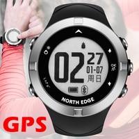 GPS watch digital Hour Heart Rate Men digital wristwatch smart waterproof Calorie Running Jogging Triathlon Hiking NORTH EDGE