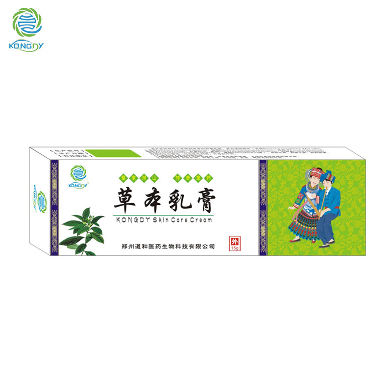 2 Boxes KONGDY New Arrival Chinese Medicine Cream Natural Mint Psoriasis Eczema Ointment Cream Eczema Treatment Antibacterial