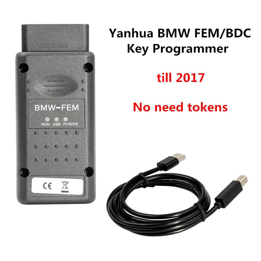 US $595 0 |2017 Newest TECHYH Original Yanhua For BMW FEM Key Programmer  with BMW FEM/BDC Key Programmer Data Desktop Test Platform-in Code Readers  &